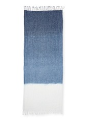Eileen Fisher Denim Ombre Linen Scarf