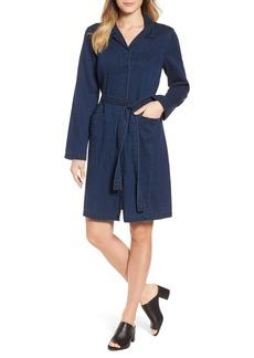 Eileen Fisher Denim Shirtdress (Regular & Petite)