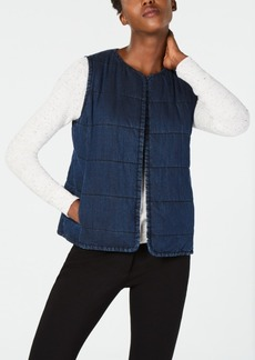 Eileen Fisher Denim Vest, Regular & Petite