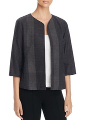 Eileen Fisher Dot Knit Open Front Jacket