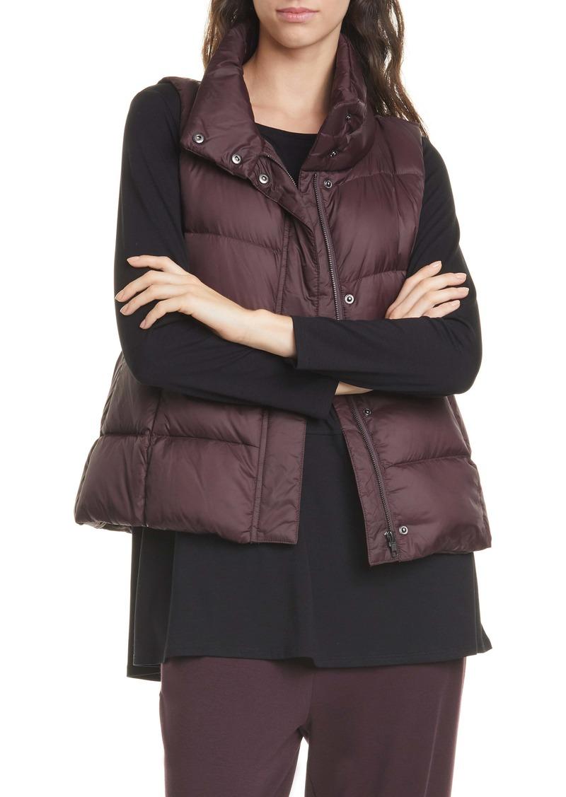 Eileen Fisher Down Puffer Vest