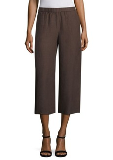 Eileen Fisher Drapey Cropped Wide Pants