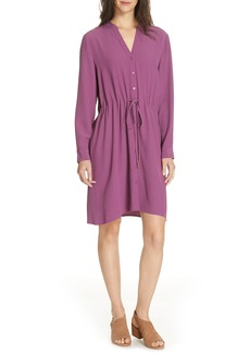 Eileen Fisher Drawstring Shirtdress (Regular & Petite)