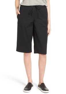 Eileen Fisher Drawstring Stretch Organic Cotton Pants