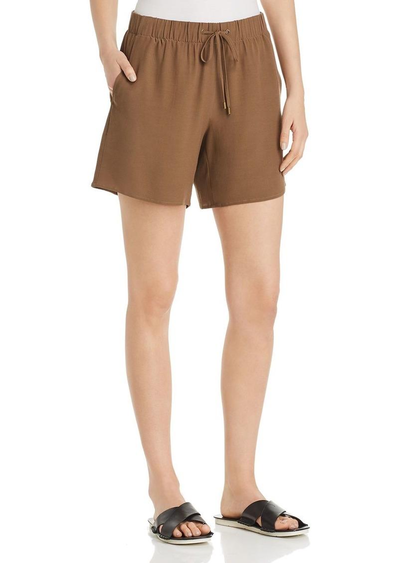 Eileen Fisher Drawstring Walking Shorts