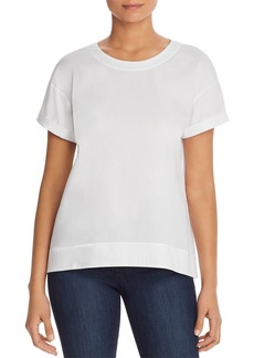 Eileen Fisher Drop-Shoulder Top