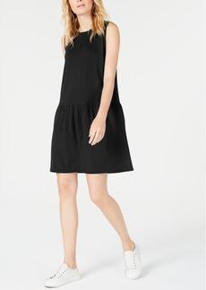 Eileen Fisher Drop-Waist Mini Tencel Dress, Regular & Petite