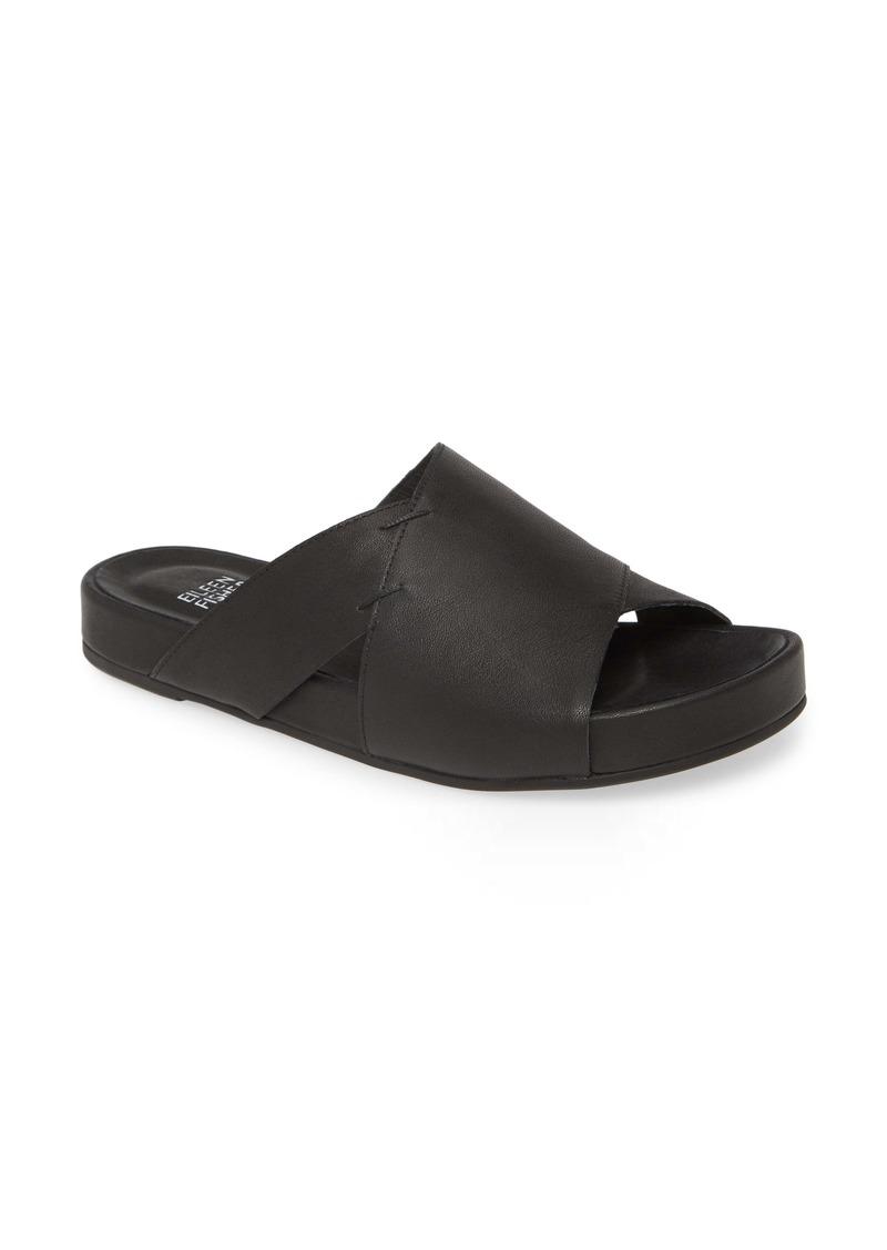 Eileen Fisher Ease Slide Sandal (Women)