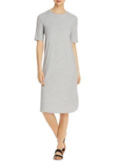 Eileen Fisher Elbow-Sleeve Dress