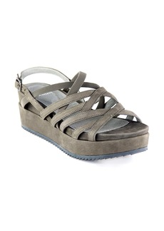 Eileen Fisher Etch Strappy Platform Slingback Sandal (Women)