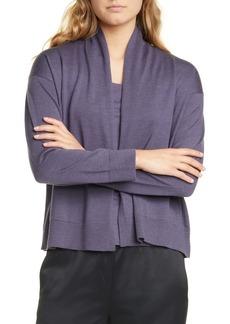 Eileen Fisher Extra Fine Merino Wool Cardigan (Regular & Petite)
