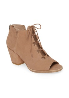 Eileen Fisher Fallon Open Toe Bootie (Women)