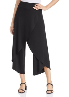 Eileen Fisher Faux-Wrap Cropped Pants