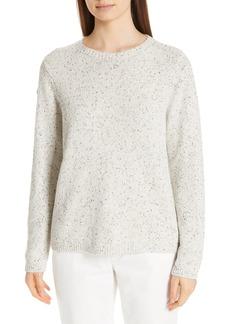 Eileen Fisher Fleck Crew Sweater