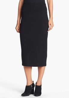 Eileen Fisher Foldover Waist Straight Skirt (Regular & Petite)