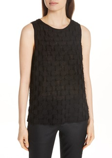 Eileen Fisher Fringe Shell Top