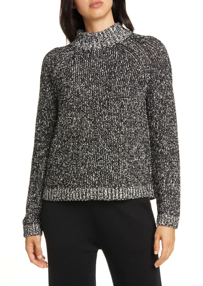 Eileen Fisher Funnel Neck Box Sweater