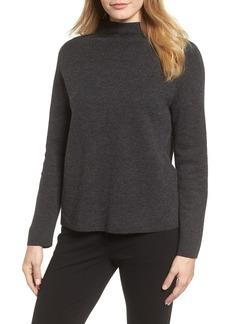 Eileen Fisher Funnel Neck Sweater (Regular & Petite)