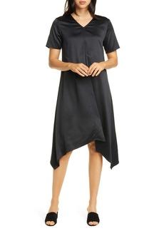 Eileen Fisher Handkerchief Hem Shift Dress