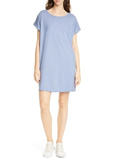 Eileen Fisher Hemp & Organic Cotton Knit Shift Dress
