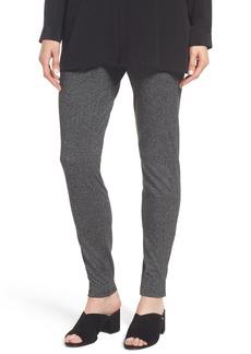 Eileen Fisher Herringbone Leggings (Regular & Petite)