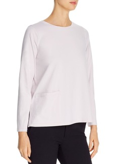Eileen Fisher High-Low Tee