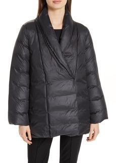 Eileen Fisher High Shawl Collar Down Coat