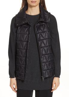 Eileen Fisher High Stand Collar Vest
