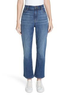 Eileen Fisher High Waist Ankle Bootcut Jeans (Regular & Petite)