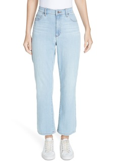 Eileen Fisher High Waist Ankle Bootcut Jeans (Regular & Petite)