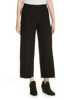 Eileen Fisher High Waist Ankle Pants (Regular & Petite)