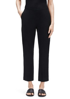 Eileen Fisher High Waist Tapered Ankle Pants