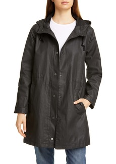 Eileen Fisher Hooded Coat (Regular & Petite)