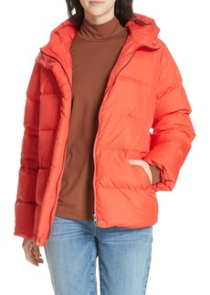 Eileen Fisher Hooded Down Jacket (Regular & Petite)