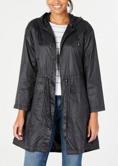 Eileen Fisher Hooded Drawstring Jacket