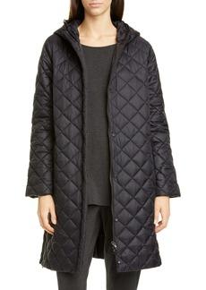 Eileen Fisher Hooded Puffer Coat (Regular & Petite)