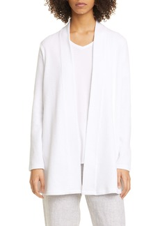 Eileen Fisher Jacquard Organic Cotton Blend Jacket