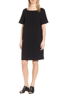 Eileen Fisher Jacquard Shift Dress