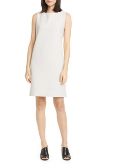 Eileen Fisher Jacquard Sleeveless Shift Dress