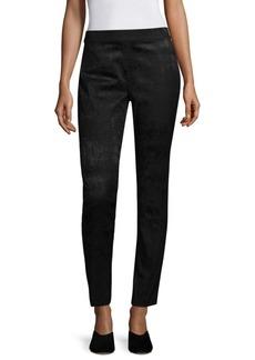 Eileen Fisher Jacquard Slim Trousers