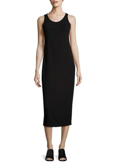 Eileen Fisher Jersey Midi Dress