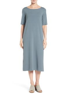 Eileen Fisher Jersey Midi Dress (Regular & Petite)