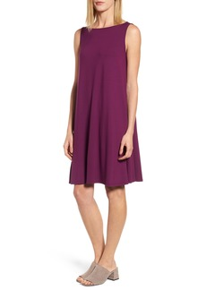 Eileen Fisher Jersey Shift Dress