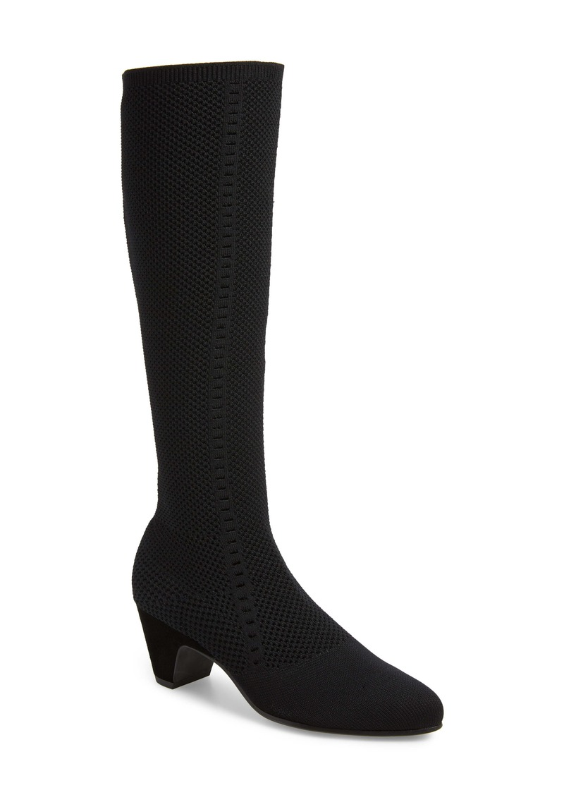Eileen Fisher Keto Knee High Boot (Women) (Wide Calf)