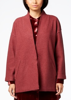 Eileen Fisher Merino Wool Kimono-Sleeve Jacket, Regular & Petite
