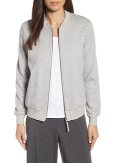 Eileen Fisher Knit Bomber Jacket (Regular & Petite)