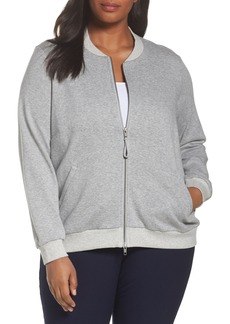 Eileen Fisher Knit Bomber Jacket (Plus Size)