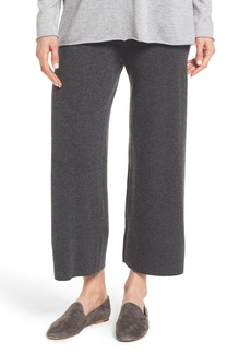 Eileen Fisher Knit Cashmere Ankle Pants