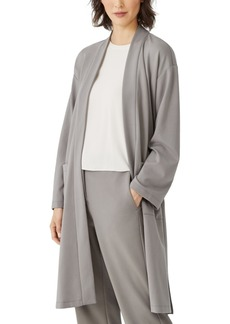 Eileen Fisher Knit Long Jacket, Regular, Petite and Plus Sizes