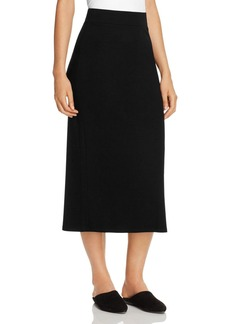 Eileen Fisher Knit Midi Skirt